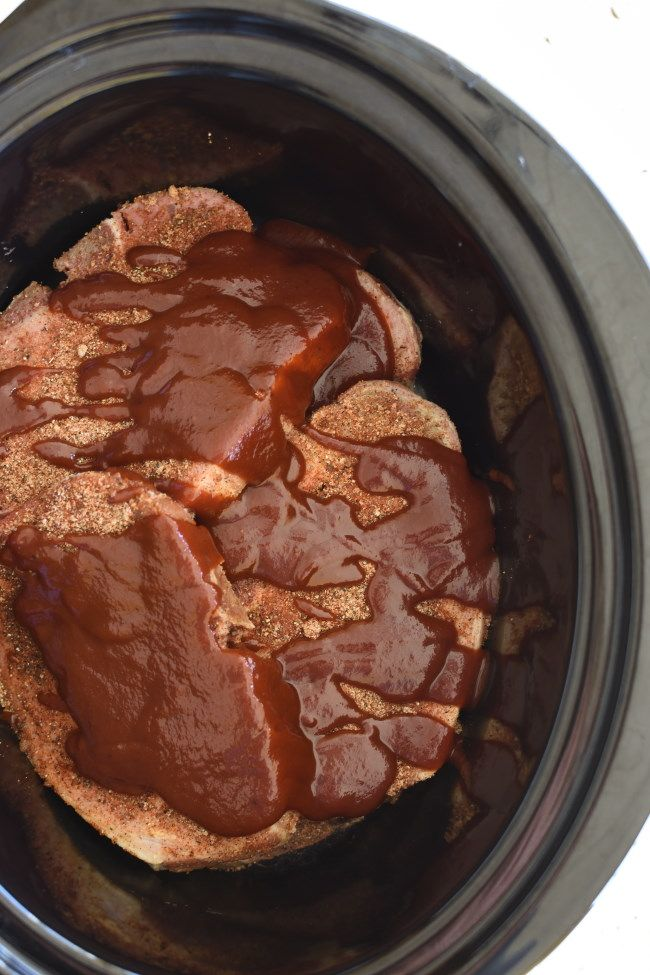 Slow Cooker Bbq Pork Chops Is The Easiest Crock Pot Meal