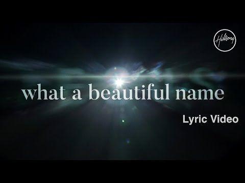 What A Beautiful Name Lyric Video Hillsong Worship Youtube