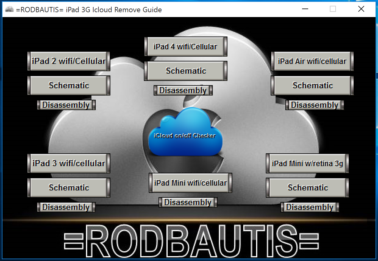 Remove Icloud guide for ipad all 3g models Unlock Bypass