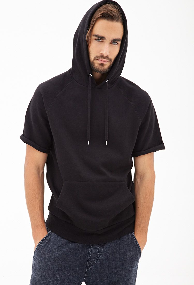 2f29352cc Short Sleeved Hoodie #21Men | mens outfit ideas | Short sleeve ...
