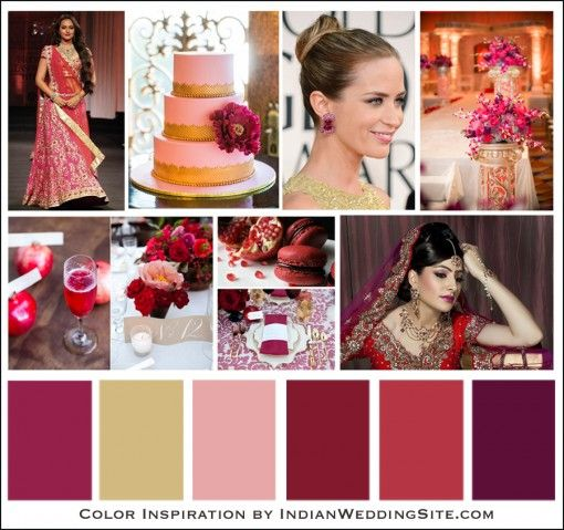 Love This Color Warm And Lush Indian Wedding Color Inspiration