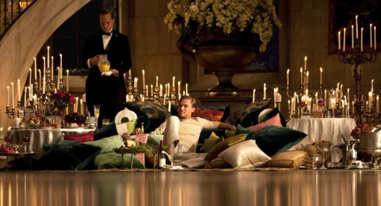 The Great Gatsby movie scene