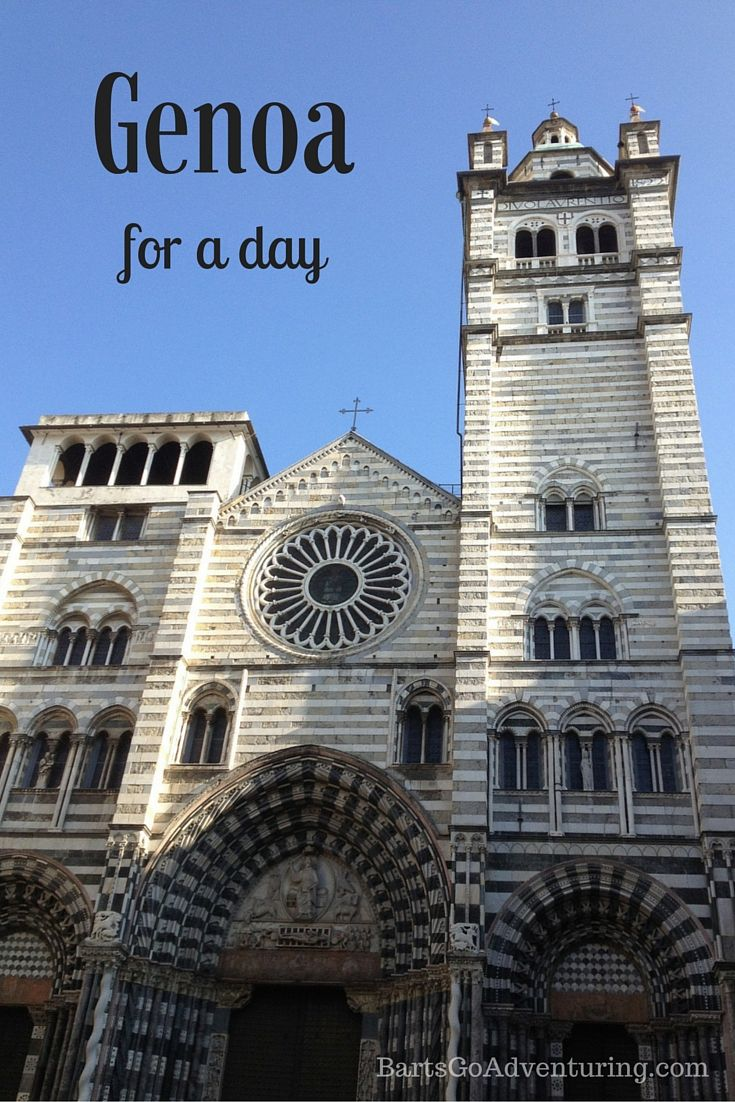 What to do in Genoa #Italy for a day trip.  http://bartsgoadventuring.com/what-to-see-in-genoa-in-one-day/
