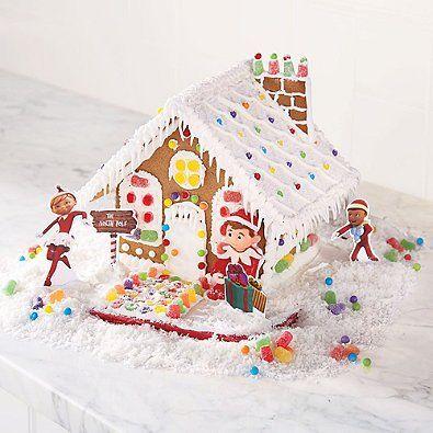 The Elf on the Shelf An Elfs Story Christmas Gingerbread House Kit  http://www.fivedollarmarket.com/the-elf-on-the-shelf-an-elfs-story-christmas-gingerbread-house-kit/