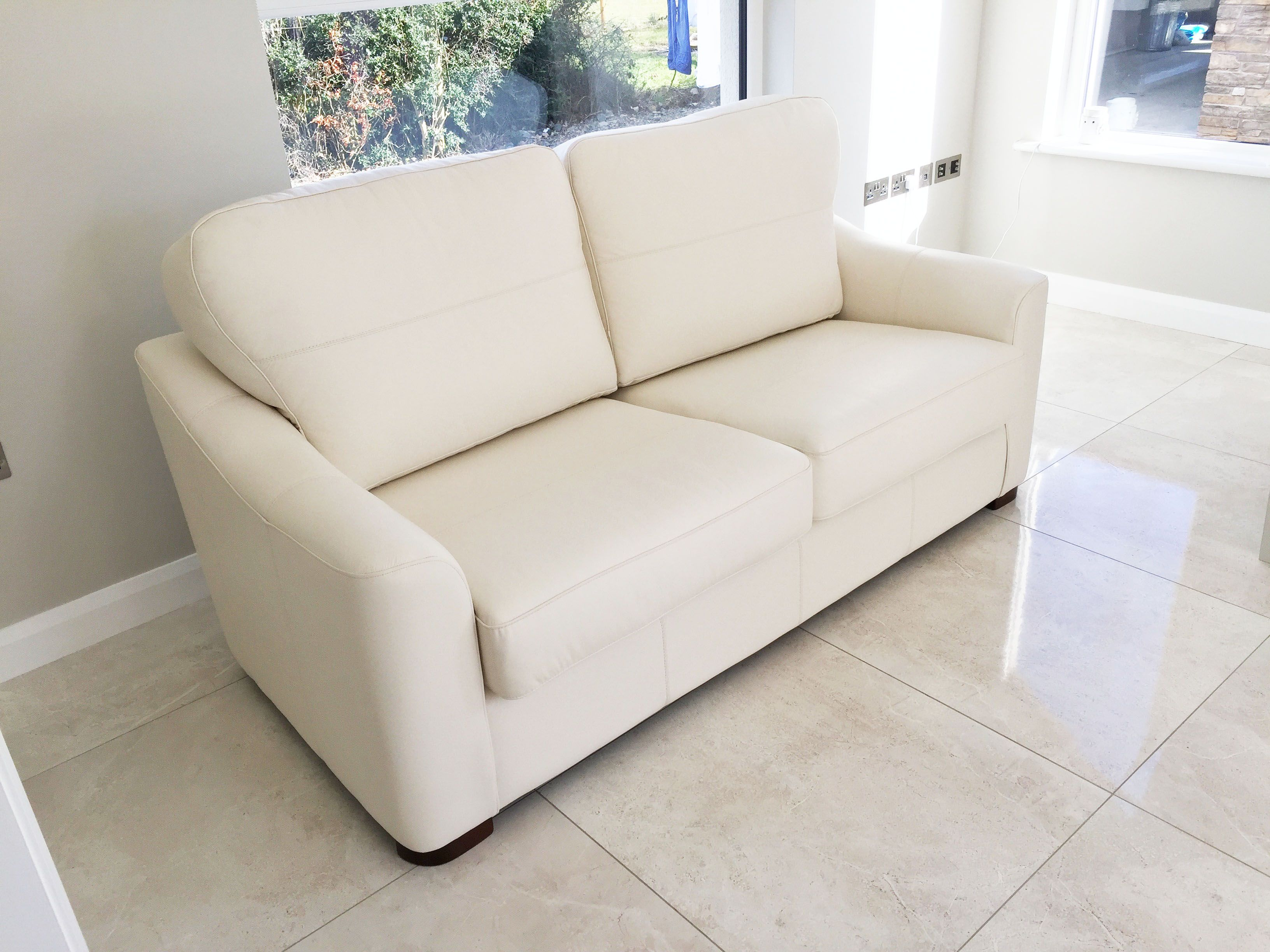 Perl Couch In Real Leather Fabric. See This And Other Products At  Kilbrae