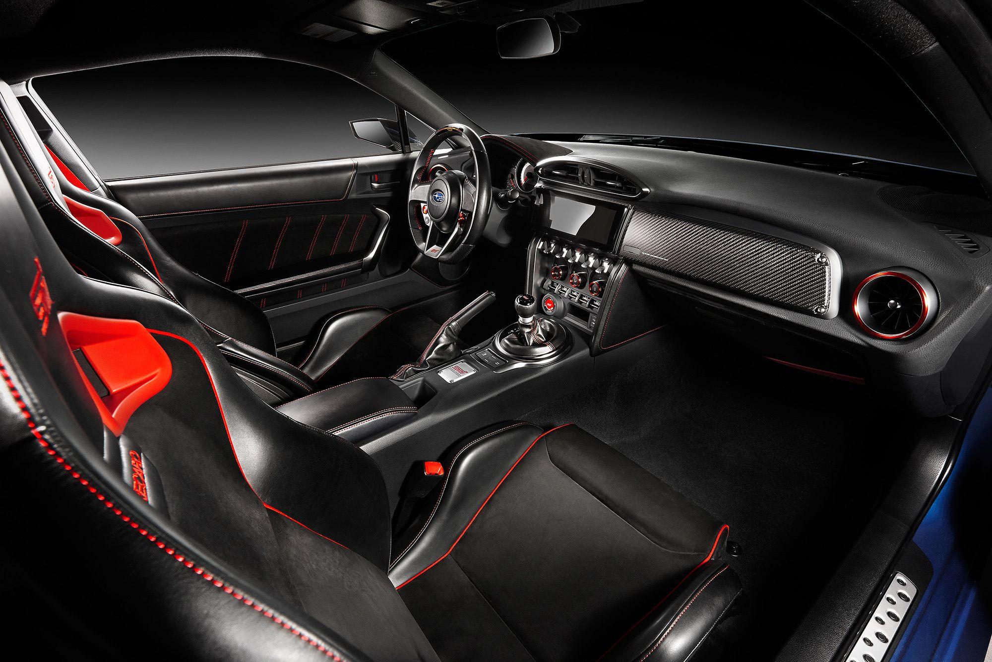 Subaru Brz Interior Automotive Force Pinterest Subaru Concept