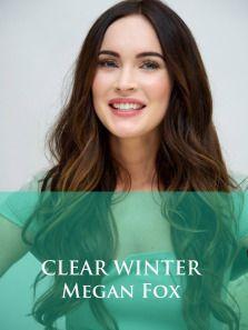 Clear Winter Eyes Bright Blue Hazel Violet Or Green Hair