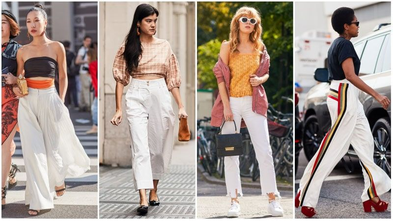 Stunning White Pants Outfit Ideas for Any Occasion | White pants ...