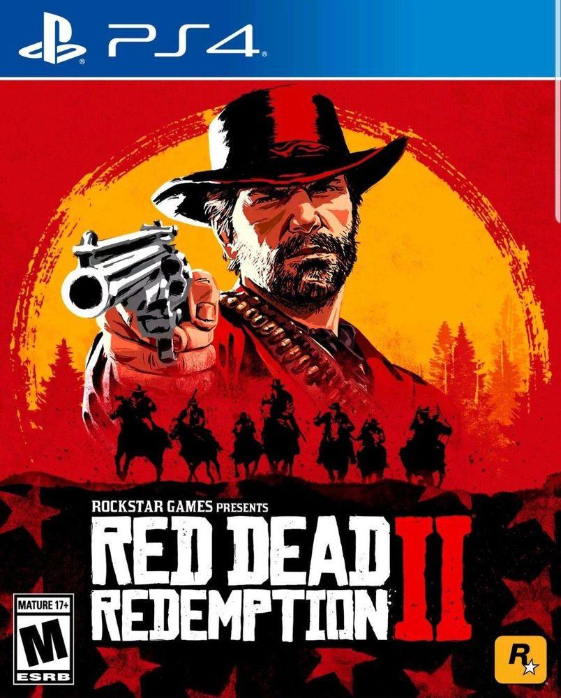 Ps4 Red Dead Redemption 2 Ii Standard Edition Mint Bonus D L Included Reddeadredemption Gaming Xboxone Red Dead Redemption Ii Red Dead Redemption Ps4 Games