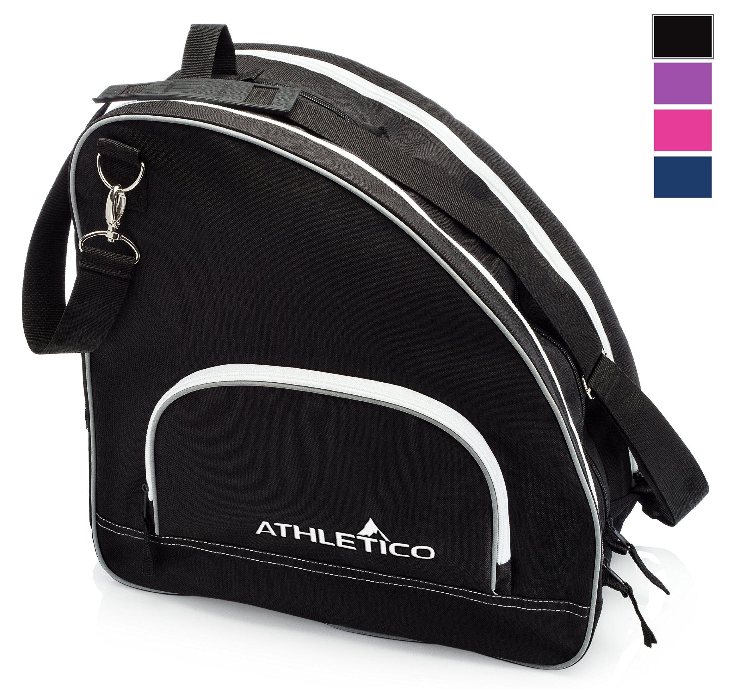 Athletico Ice Inline Skate Bag Premium Bag To Carry Ice Skates Roller Skates Inline Skates For Inline Skate Inline Skating Ice Skating