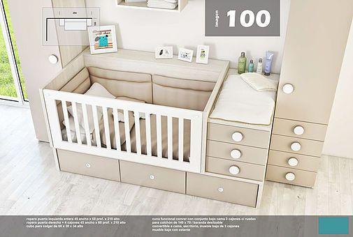 camas para niños, dormitorios infantiles, cunas para bebe, Proyectos ...