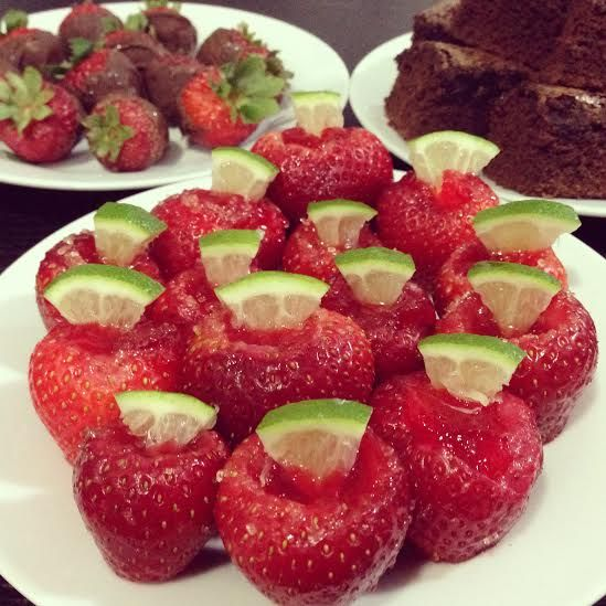 Strawberry Jello Shots Recipe
