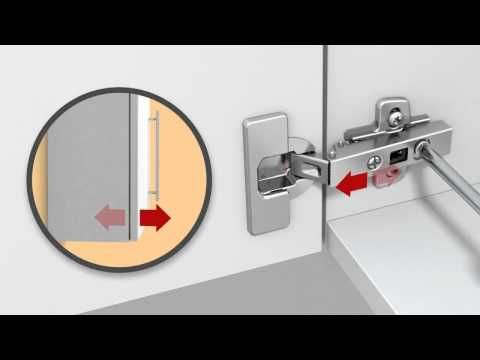 adjusting cup hinges and doors do it yourself with hettich rh pinterest es