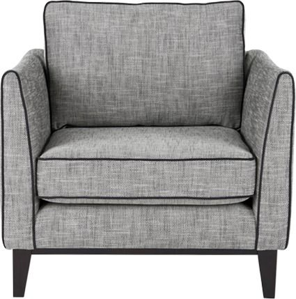 Content by Terence Conran Keston Armchair, Jet Grey ...