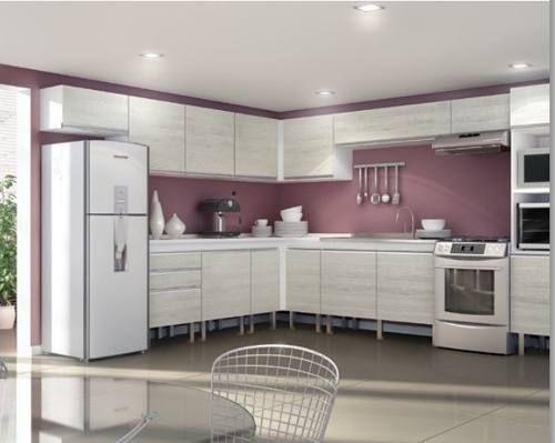 Modelos de muebles de cocina de melamina buscar con for Muebles para cocinas pequenas modernas