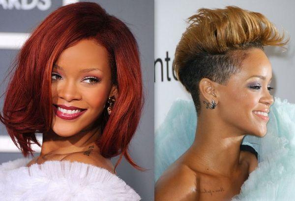Rihanna Hair Styles