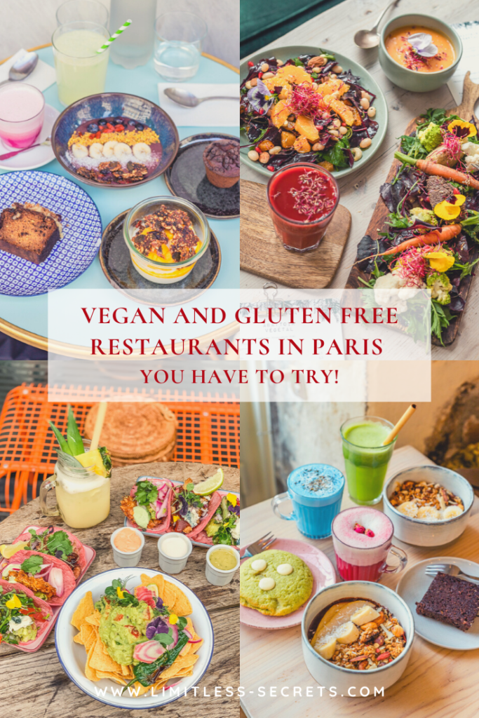 Vegan And Gluten Free Restaurants In Paris In 2020 Gluten Free Restaurants Paris Restaurants Foodie Destinations