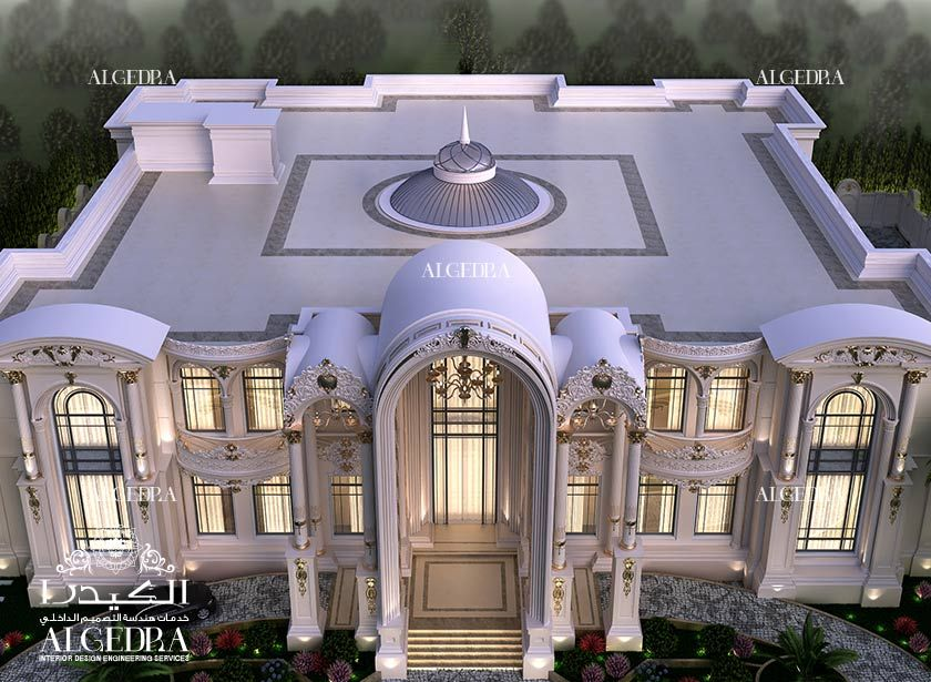 Exterior Design For Palace Luxury Exterior Luxury Homes