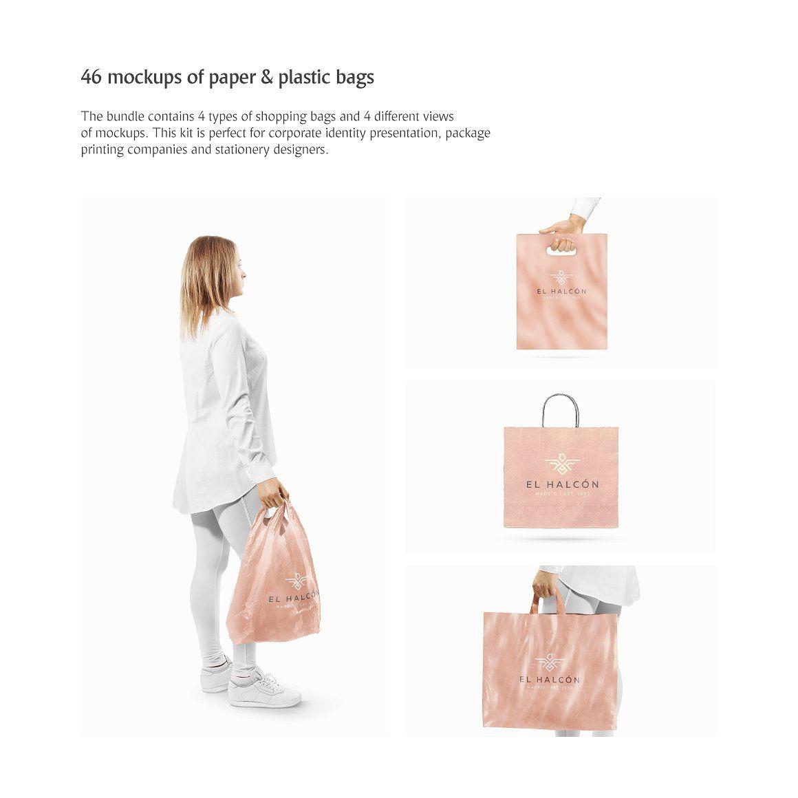Download Shopping Bags Mockups Bundle Bag Mockup Shopping Bag Shopping