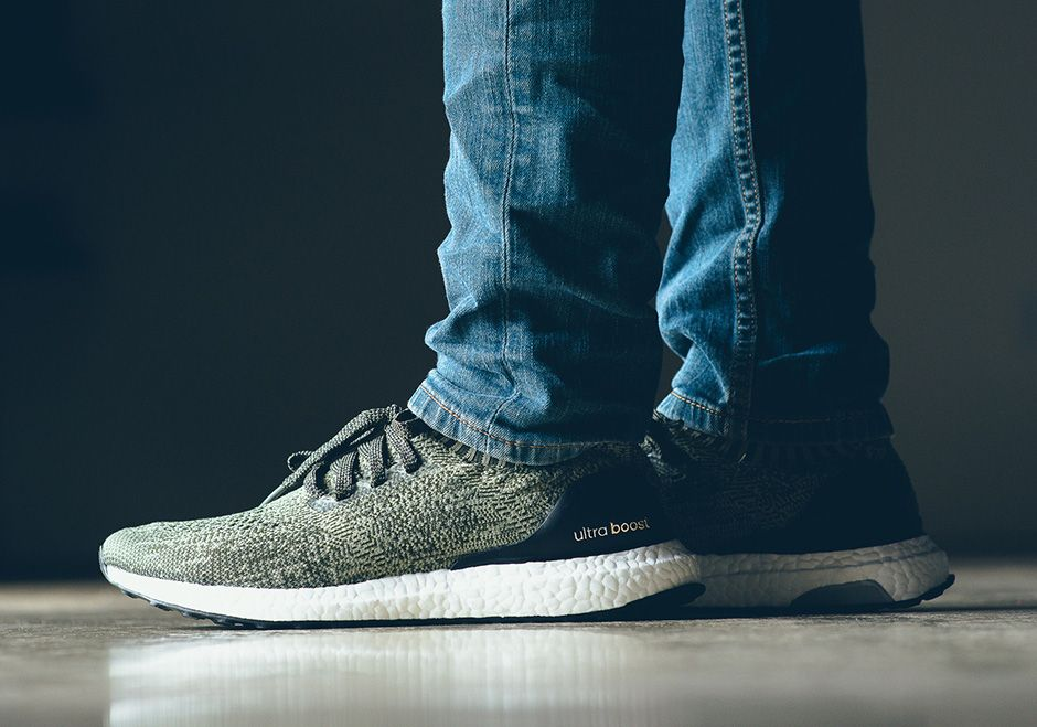 adidas Ultra Boost Uncaged Olive Green | SneakerNews.com
