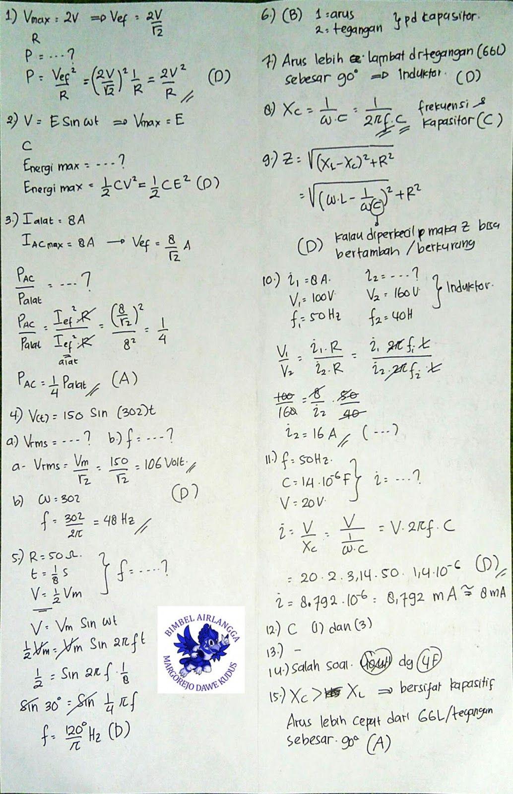 Penghianat Fisika Kunci Jawaban Fisika Xii Marthen Kanginan Kurikulum 2013 Bab Rangkaian Arus Searah Fisika Kurikulum Matematika