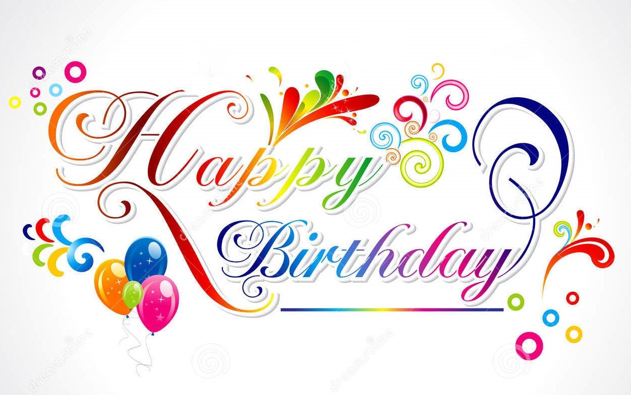 Happy Birthday Rainbow Colors Custom Edit By Lechezz Happy