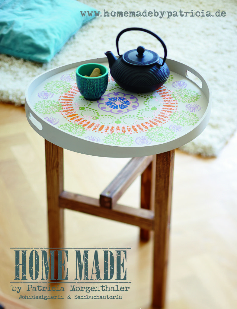 Diy Idee Tablett Tisch Selber Bauen I Beistelltisch I Upcycling I