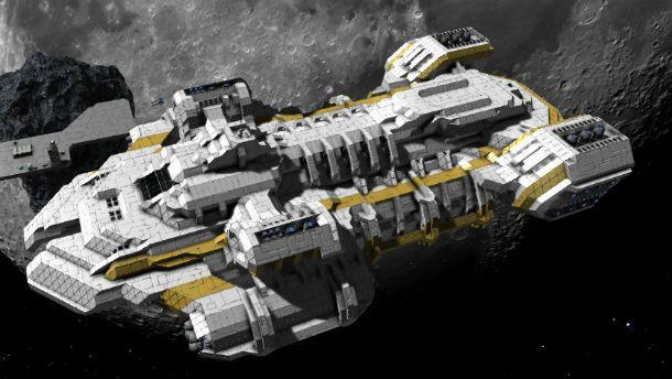 space engineers cargo ship - photo #18