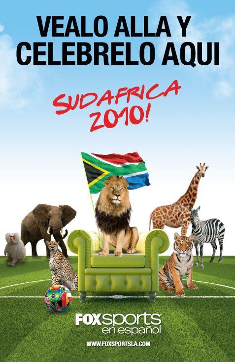 World Cup print ad (Fox Sports En Espanol) | Sports ...