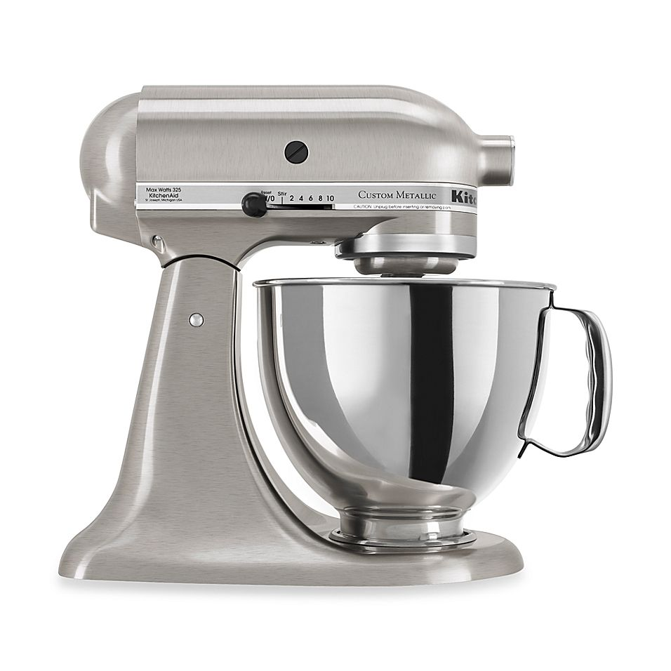 Kitchenaid Custom Metallic Series 5 Quart Tilt Head Stand Mixer