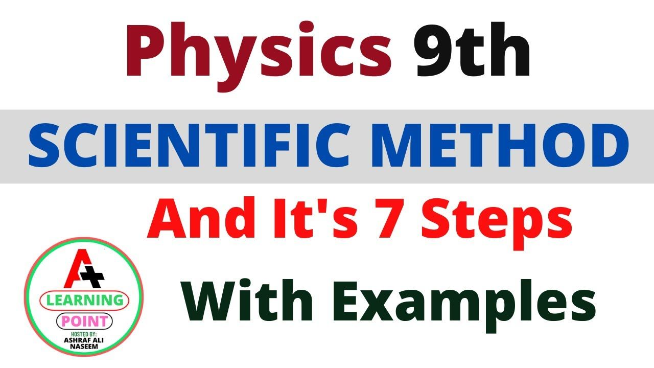 Scientific Method By A Learning Point 7 Steps Of Scientific Method With Scientific Method Steps Scientific Method Scientific