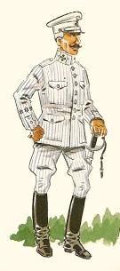 Cazadores de Alcantara 1911-14 Capitan diario en verano