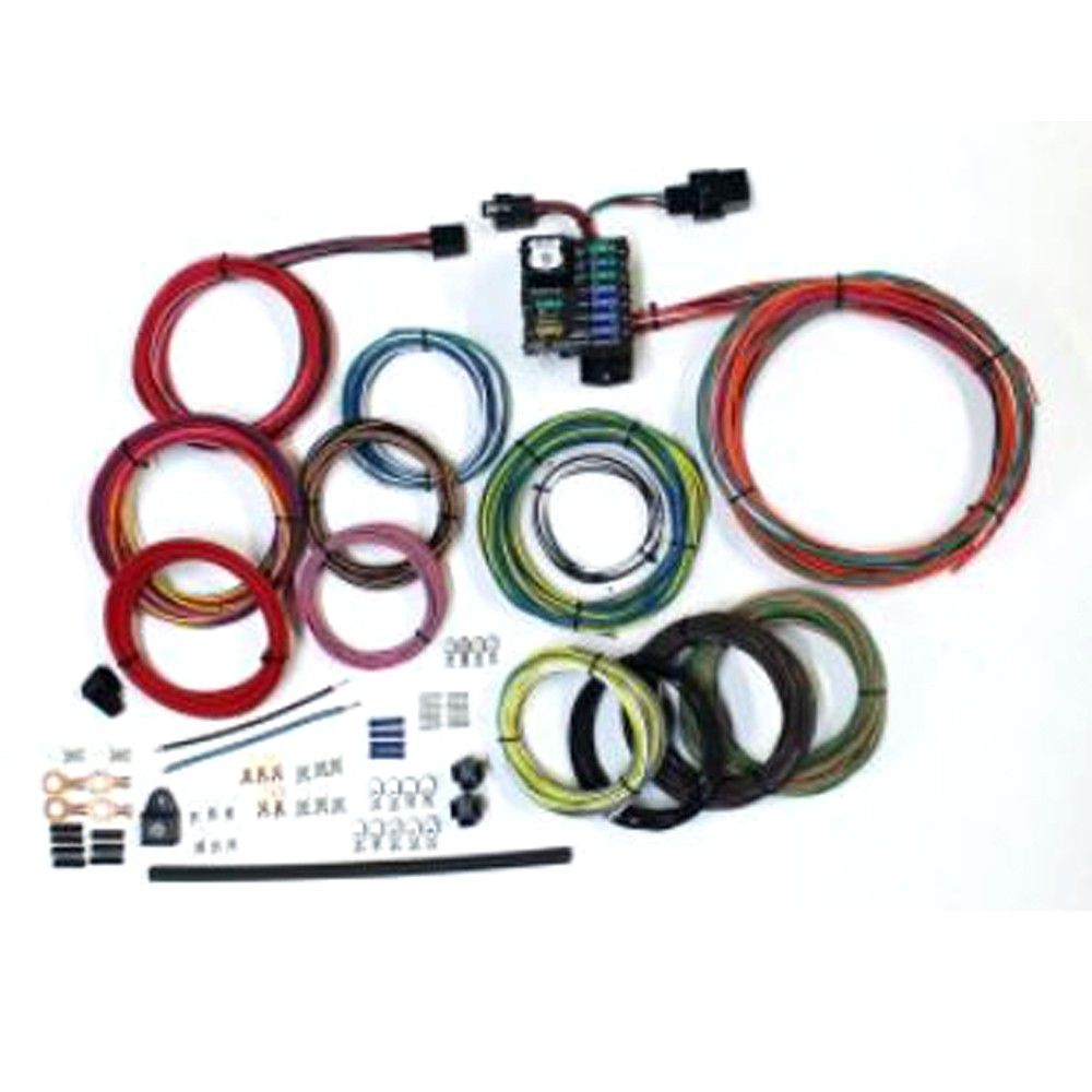 American Autowire Route 9 Wiring Kit Universal With Images Electrical Wiring Electricity Universal