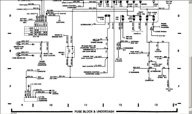 1986 toyota truck wiring schematic