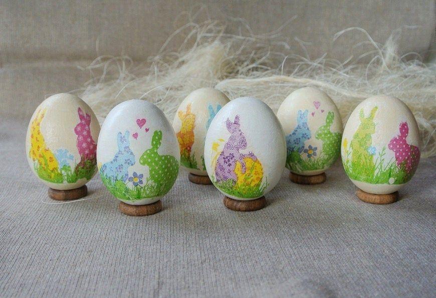 6 Easter eggs. Egg decorating. Easter eggs hunt. Easter eggs ...