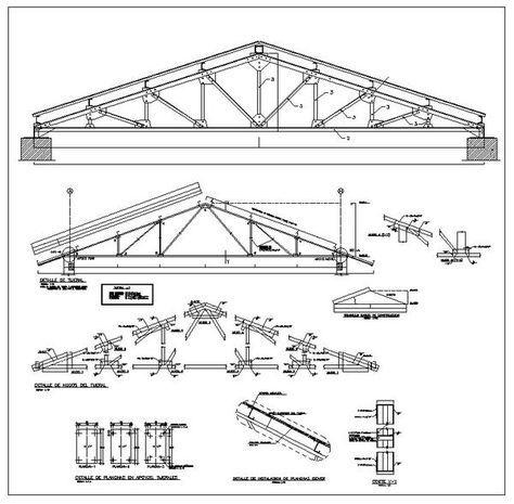 Truss Structure Details V7 Trusses Truss Structure