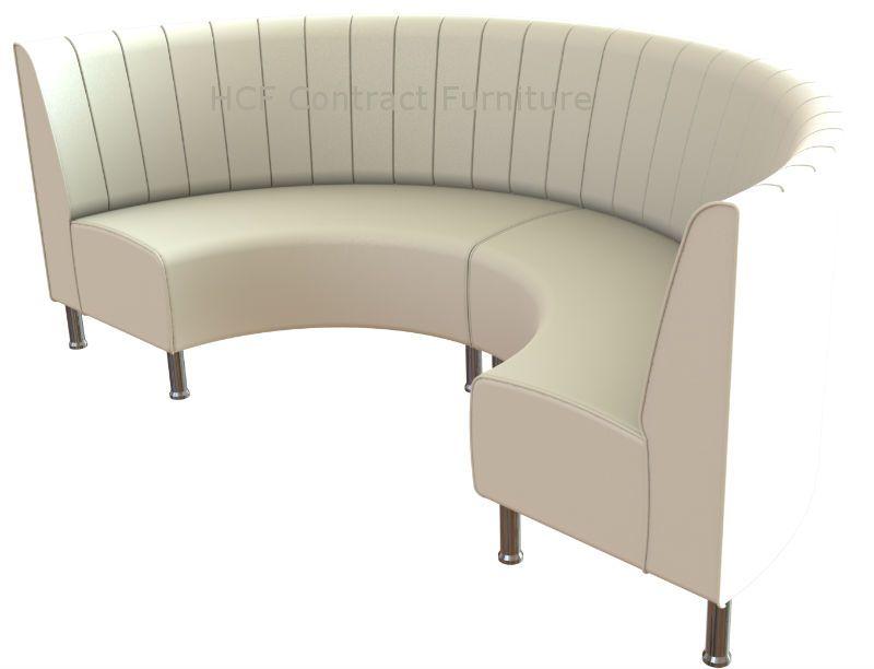 Round Booth Seating Kansas Fluted Large 12 Circle Design In 2019 Booth Seating Sofa