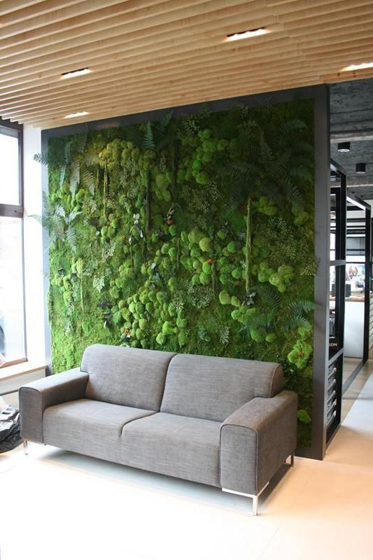 zielona ciana design green pinterest vertikal kreative w nde und vertikal garden. Black Bedroom Furniture Sets. Home Design Ideas