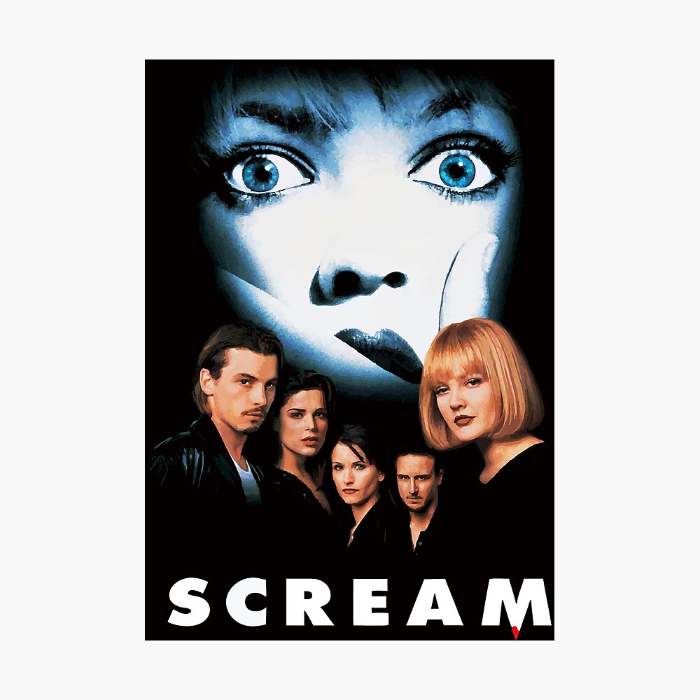Scream Poster By Furioso In 2020 Supernatural Poster