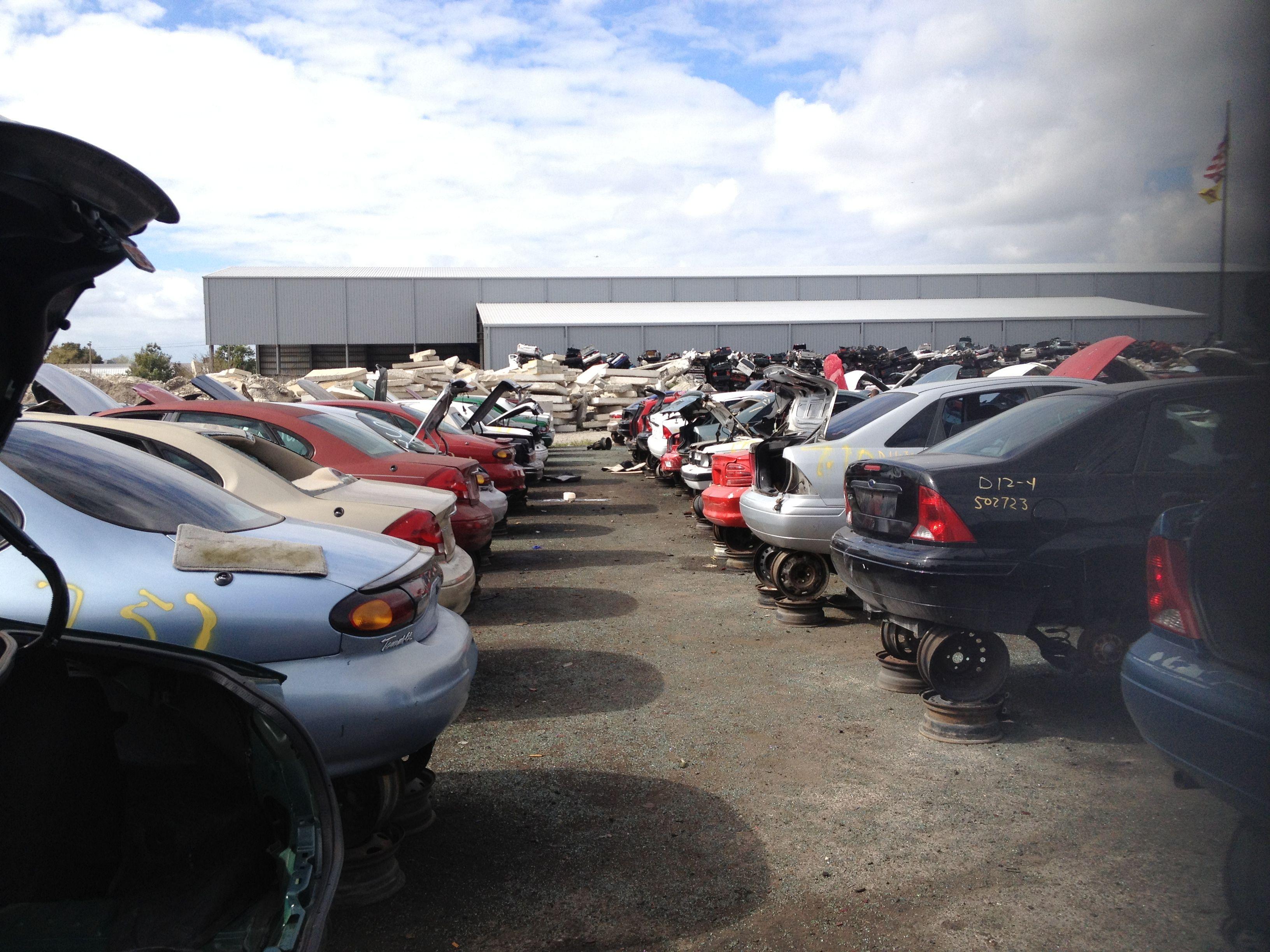 Junk cars http://www.u-pull-it-junkyard.com | Junk Yards | Pinterest ...