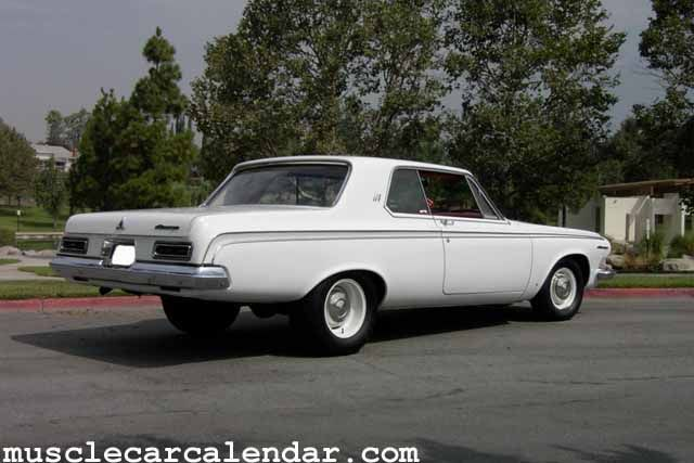 Thundering Muscle Car Sounds Of A 1963 Dodge 440 426 Max Wedge