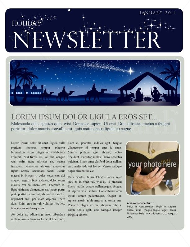 17 images about Newsletter Design – Example of Newsletter Templates