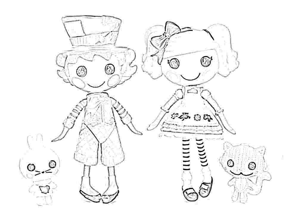 lalaloopsy christmas coloring pages to color and print - Lalaloopsy Coloring Pages
