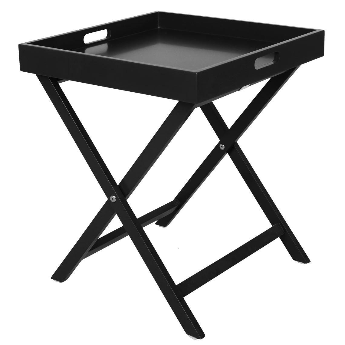 Dante 40x40cm Butler Tray Table Black In 2019 Butlers