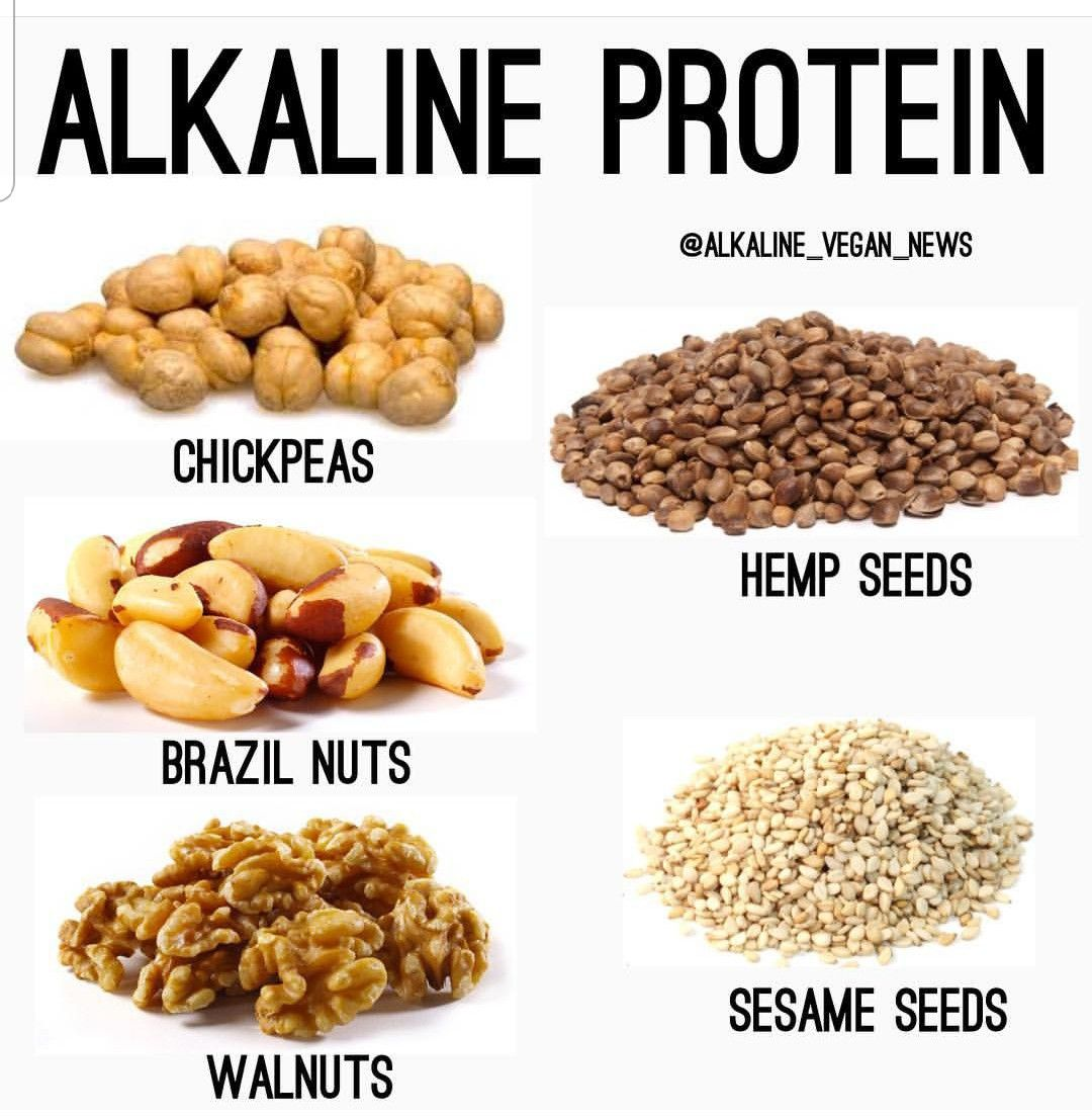 protein on an alkaline diet