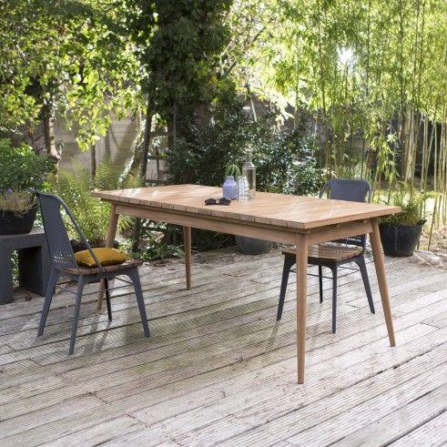 Table De Jardin En Teck 180 Vadim Sea House Table De Jardin