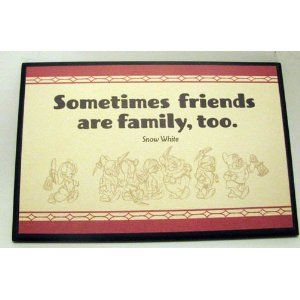 Hallmark Disney DYG9604 Snow White Medium Sentiment Plaque