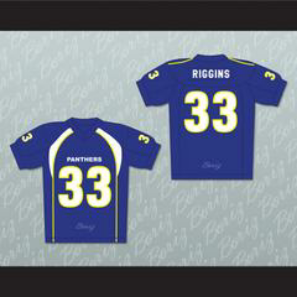 brand new 5350b 8dac1 Taylor Kitsch Tim Riggins 33 Dillon Panthers Football Jersey ...