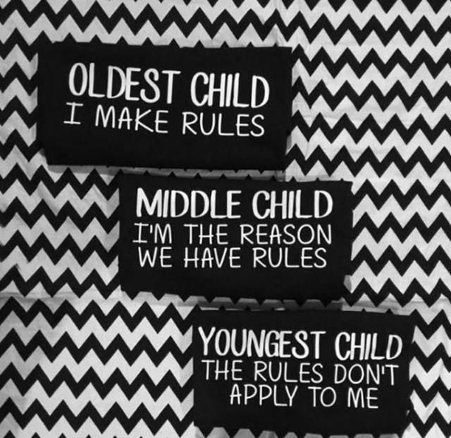 I'm the Middle Child #middlechildhumor