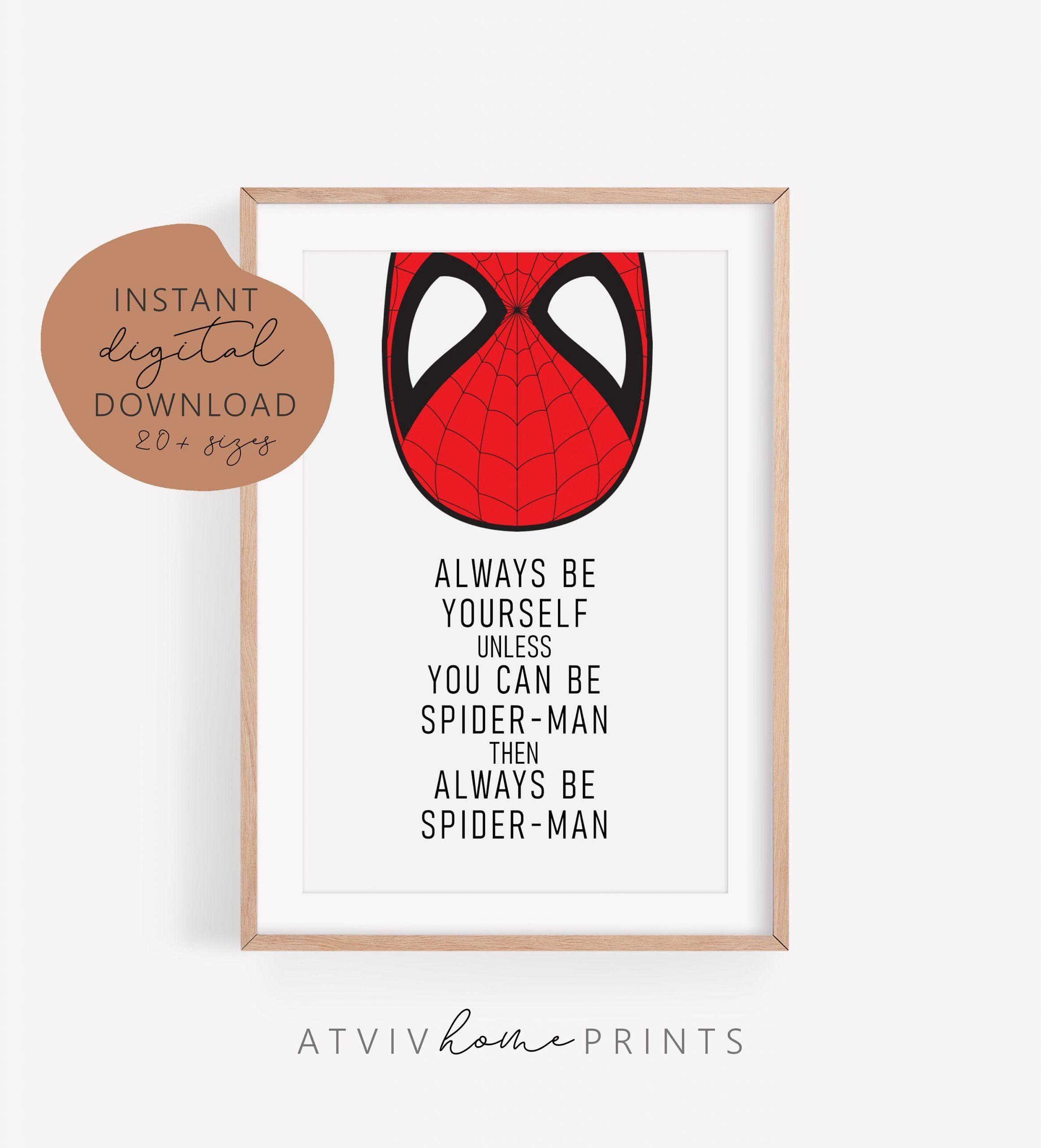 Spiderman print, met grote macht komt grote verantwoordelijkheid, superheld, Boys Room, spiderman poster, printable, kwekerij muur, spiderman kunst#boys #grote #komt #kunst #kwekerij #macht #met #muur #poster #print #printable #room #spiderman #superheld #verantwoordelijkheid